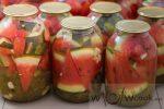 Консервировать арбузы – Заготовка арбузов в литровых банках и бутылях. Сладкие, солёные и пряные арбузы, консервированные в банках – Женское мнение