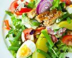 Нисуаз рецепт – Салат Нисуаз — классический рецепт пошагово с фото. Как приготовить французский салат Нисуаз с тунцом, с лососем?