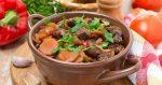 Говядина рецепты с овощами – Мясо тушеное с овощами — простые и оригинальные рецепты вкусного блюда с подливкой