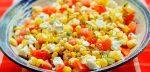 Кукуруза салаты – Салаты с консервированной кукурузой, рецепты вкусных и простых салатов с фото на Вкусо.ру