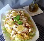 Салат с кабачками и фасолью – Салат из белой консервированной фасоли / Овощные салаты / TVCook: пошаговые рецепты с фото