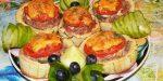 Кабачок с фаршем в духовке кружочками – Фаршированные кружочками кабачки с фаршем в духовке