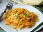 Капуста тушеная в сковороде рецепт с фото – Рецепт тушеной капусты с сосисками на сковороде Весьма простой ужин из капусты для всей семьи