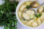 Клецки рецепт теста для супа – Суп с клецками на мясном бульоне – как сделать клецки из яиц и муки