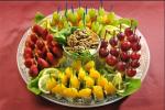 Красивая подача фруктов на детский праздник – на стол в домашних условиях, фото, пошагово, овощи, на праздничный стол, на детский, на день рождения, своими руками, красиво