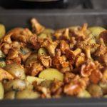 Лисички с картошкой в духовке рецепт с фото – Как приготовить картошку с грибами лисичками в духовке ГРИБъ.РФ- съедобные белые грибы, лисички, грибные места и рецепты
