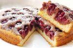 Рецепт заливной пирог с вишней – Пирог с вишней — рецепты с фото пошагово, в мультиварке, на кефире, из слоеного теста, заливного пирога, видео