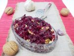 Салат из свеклы с грецкими орехами и чесноком и сыром – Салат из свеклы с сыром чесноком и грецкими орехами