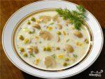 Суп грибной с копченостями – Рецепт: Суп грибной с шампиньонами