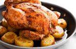 Запеченная курица с картошкой в духовке – Курица с картошкой в духовке – лучшие рецепты. Как правильно и вкусно приготовить в духовке курицу с картошкой в духовке. – Женское мнение