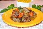 Жареная печень с луком и морковью рецепт с фото – Печень говяжья жареная с луком и морковью. Пошаговый рецепт