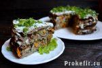 Как приготовить печеночный торт из говяжьей печени рецепт с фото пошагово – Печеночный торт из говяжьей печени – пошаговый рецепт с морковью и луком на кефире