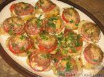Картошка с помидорами и сыром и мясом в духовке – Картошка с помидорами в духовке – 3 рецепта с сыром и мясом