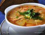 Куриный суп с кабачками рецепт – Французский куриный суп с кабачками. Ингредиенты: оливковое масло, кабачки, майоран