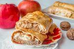 Лаваш с творогом и яблоками в духовке – Лаваш с яблоком и творогом рецепт с фото, как приготовить на Webspoon.ru