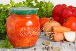 Лечо с помидорами и перцем и морковкой – Рецепты лечо на зиму из помидор с перцем, морковью и луком