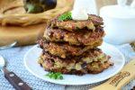 Оладьи из баклажанов и картофеля – Картофельно-баклажанные оладьи — как сделать вкусные оладьи из синеньких, пошаговый рецепт с фото