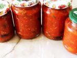 Перец маринованный с томатной пастой на зиму – рецепты ссоком, пастой, нашинкованными плодами, без стерилизации, без уксуса, сбаклажанами иморковью