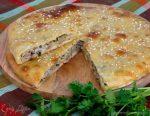 Пирог из жидкого теста на кефире – вкусный рецепт с фото и видео