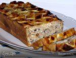 Пирог с грибами и мясом – фото, как приготовить мясные пироги с грибами
