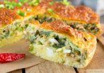 Пирог с яйцом и тунцом – Быстрый пирог с тунцом, яйцом и зеленым луком — Рецепты от Daily-menu.ru