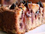 Рецепт сливовый пирог на сметане – .