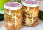 Салат из огурцов и кабачков на зиму – Салат из кабачков с огурцами (консервация) рецепт с фотографиями