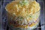 Салат курица ананас яйцо сыр слоями – пошаговые рецепты слоями и так