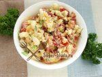 Салат помидоры копченая колбаса – ТОП 8 рецептов с фото