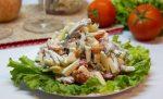 Салат самый вкусный с помидорами и говядиной – Салат с говядиной (сыр, помидоры, яблоко, зелень). Рецепт с фото от Екатерины Витиной