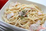 Соус для спагетти карбонара со сливками – . ?