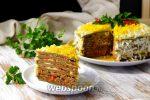 Торт печеночный из говяжьей печени – Печеночный торт из куриной, говяжьей, свиной печени. Как приготовить вкусный печеночный торт — пошаговый рецепт