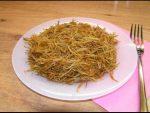 Жареная вермишель на сковороде – Жареная вермишель на сковороде – как приготовить жареную вермишель-паутинку не сливая воду, пошаговый рецепт с фото