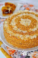 Медовые торты рецепты простые в домашних условиях с фото – Самый простой медовик — пошаговый рецепт с фото на Повар.ру