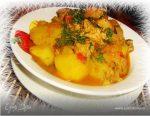 Мясо в сковороде с картошкой – Тушеная картошка с мясом на сковороде