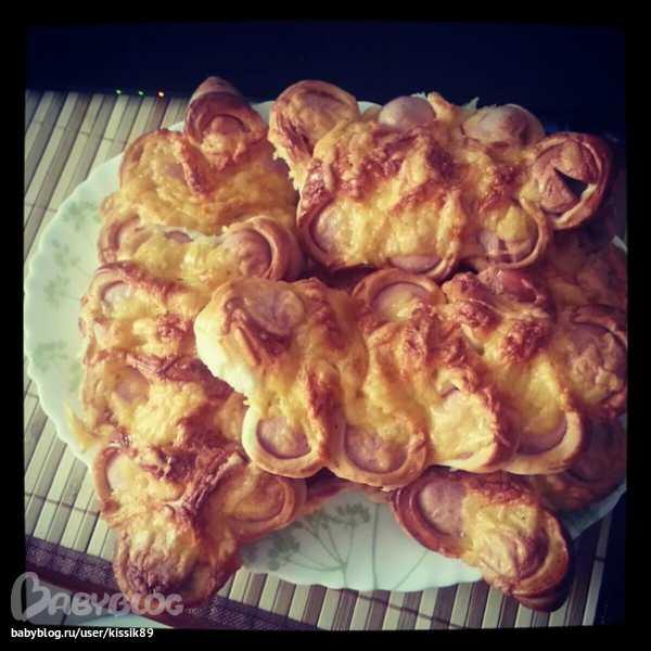 b73d3f25b38d гусенички из сосисок — запись пользователя Катерина (kissik89) в сообществе  Кулинарное сообщество в категории Пироги, пирожки, булочки