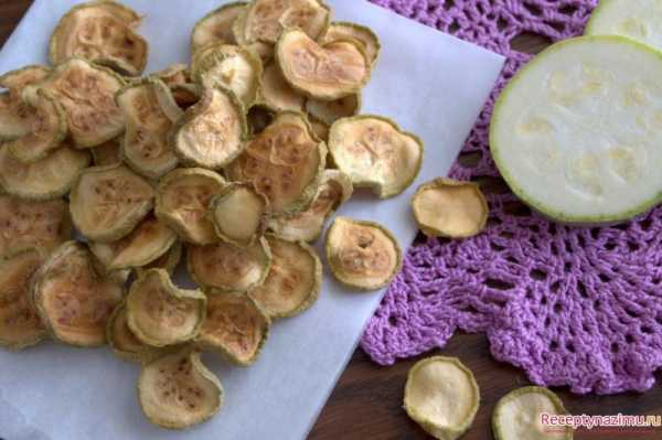 Блюда с сушеными кабачками